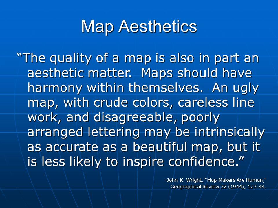 Map Aesthetics