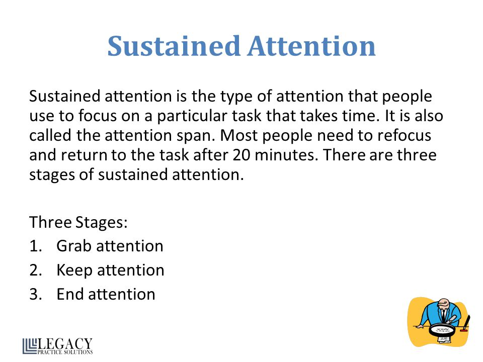 Sustained Attention