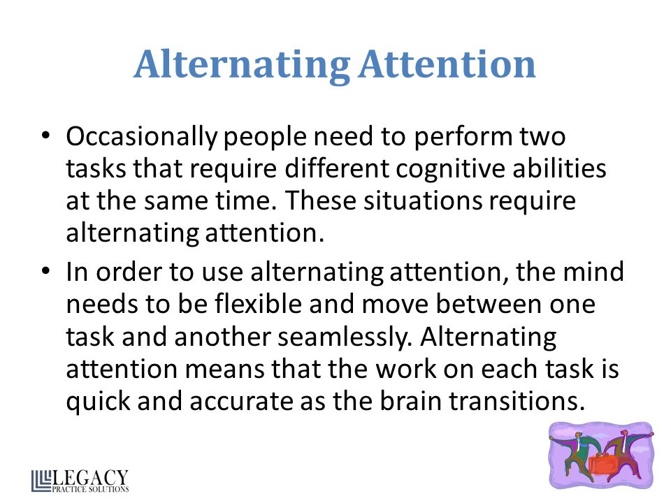Alternating Attention