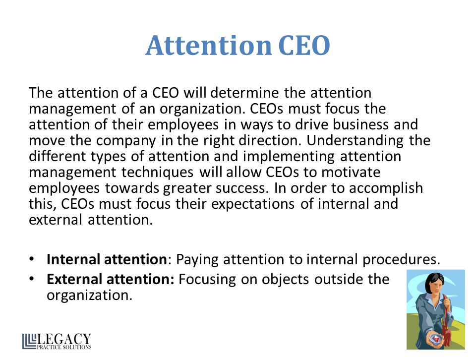 Attention CEO