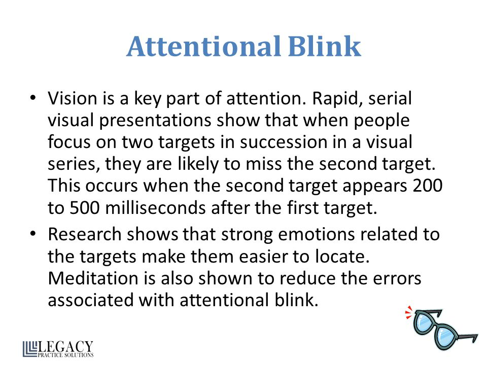 Attentional Blink