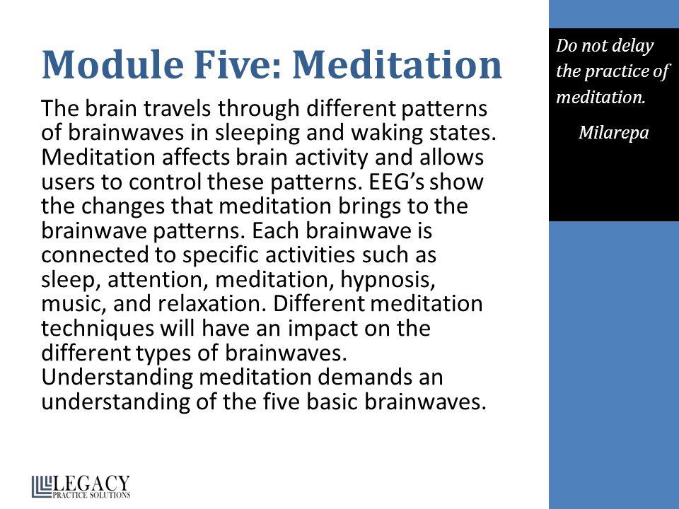 Module Five: Meditation