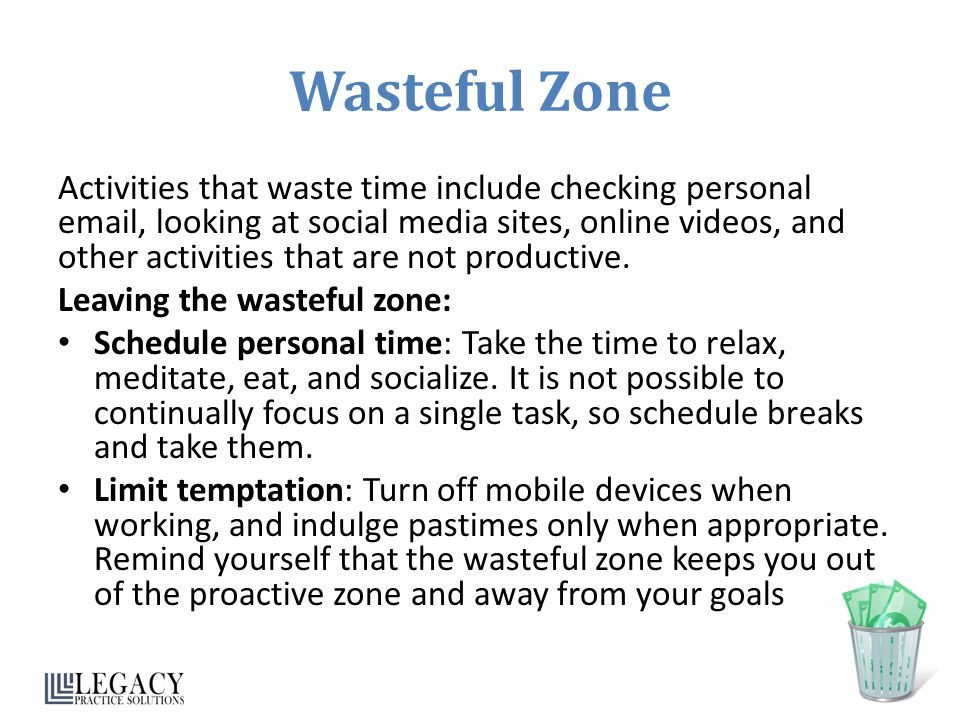 Wasteful Zone