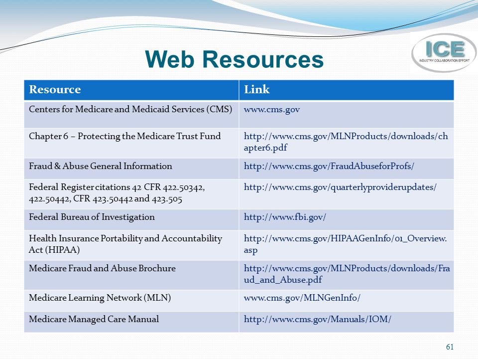 Web Resources Resource Link