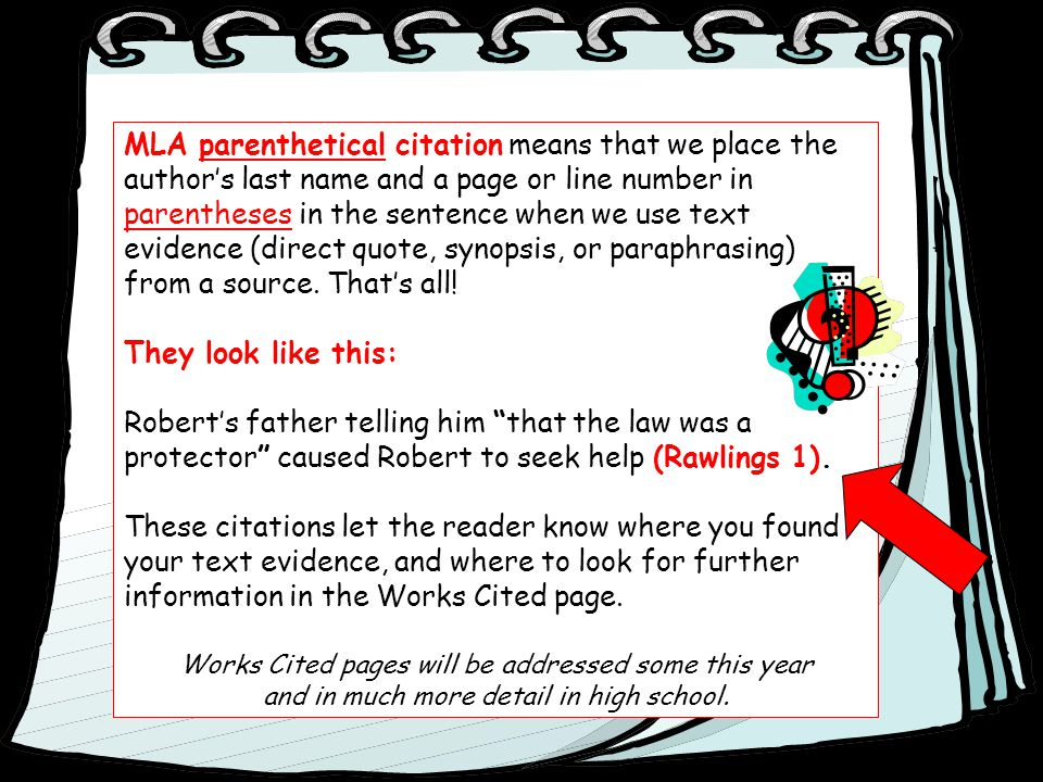 mla format for parenthetical citations Mla citations, sometimes called parenthetical citations or in-text citations the purpose of mla citation is to document where you found your information and.