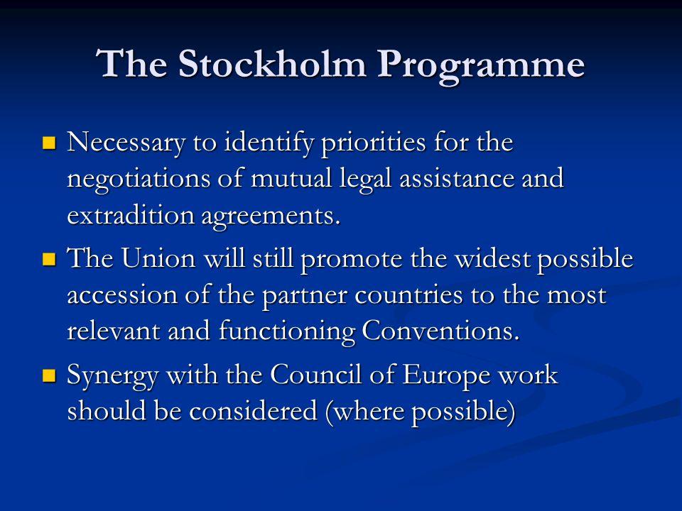 The Stockholm Programme