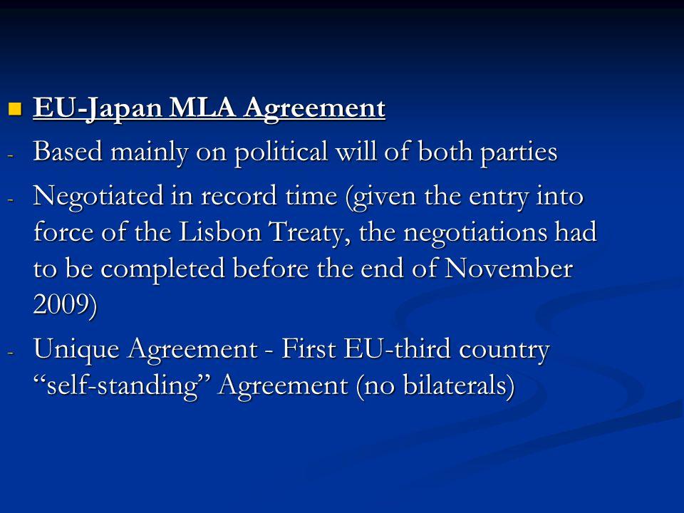EU-Japan MLA Agreement
