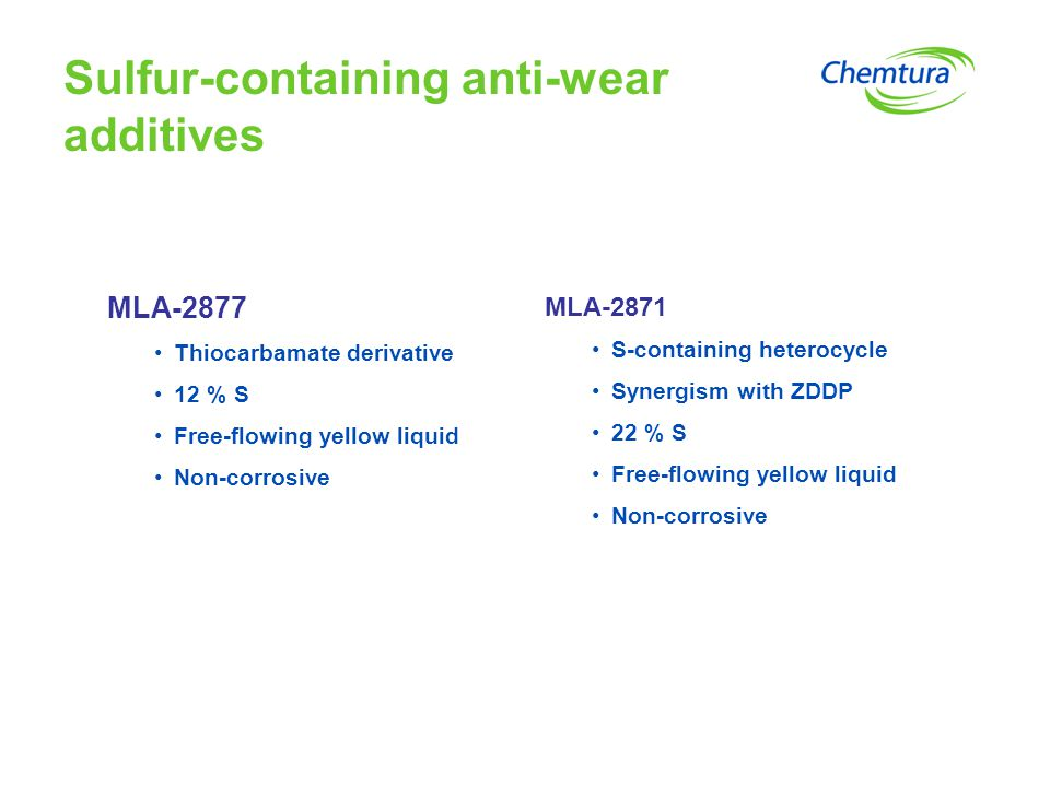 Sulfur-containing anti-wear additives
