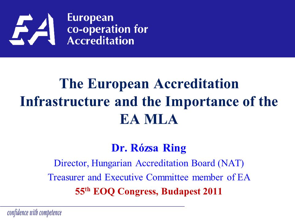 55th EOQ Congress, Budapest 2011