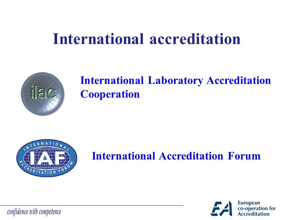 International accreditation