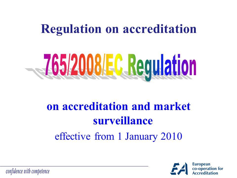 Regulation on accreditation