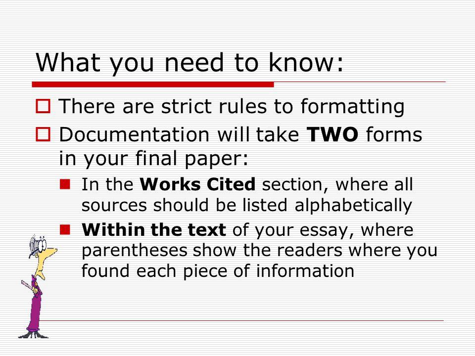essay title underlined mla