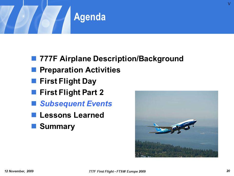 777F First Flight - FTSW Europe 2009
