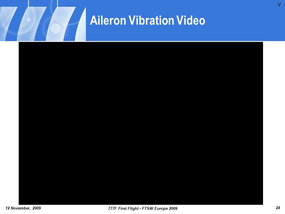 Aileron Vibration Video