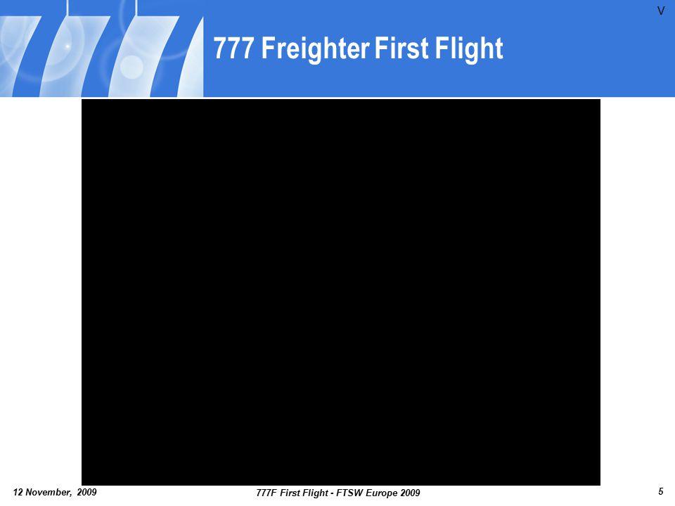 777 Freighter First Flight