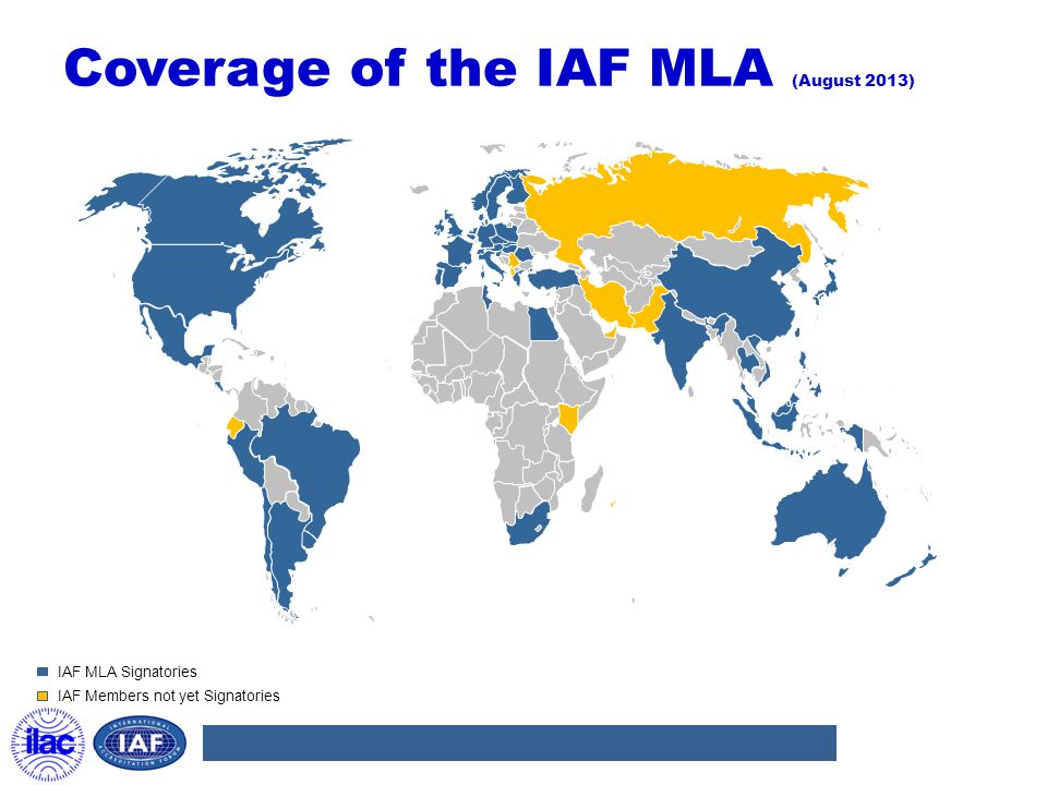 Coverage of the IAF MLA (August 2013)