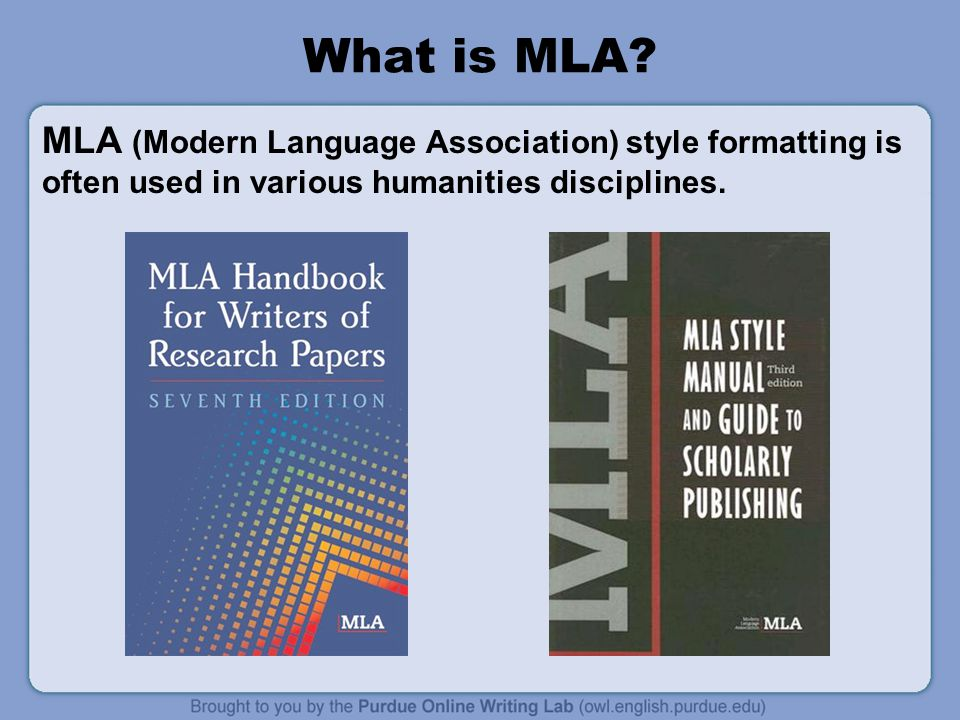mla handbook - the definitive guide to writing research papers