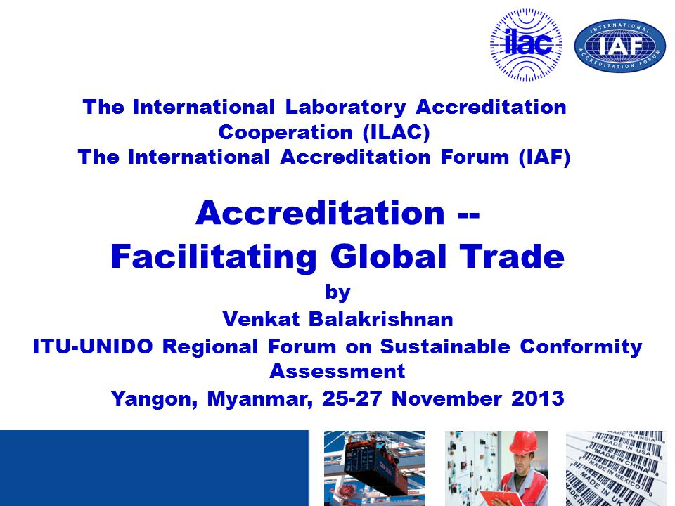Facilitating Global Trade