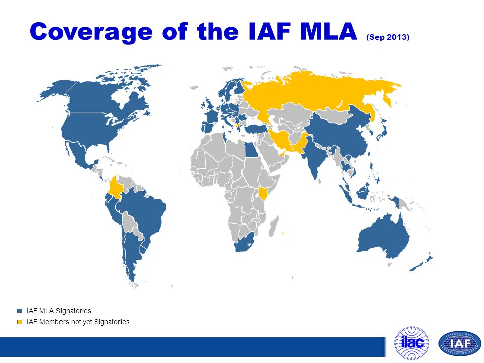 Coverage of the IAF MLA (Sep 2013)