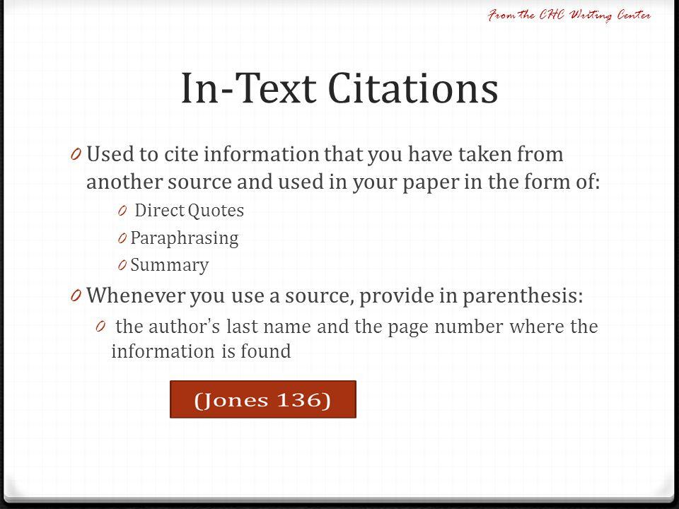mla format summary response essay