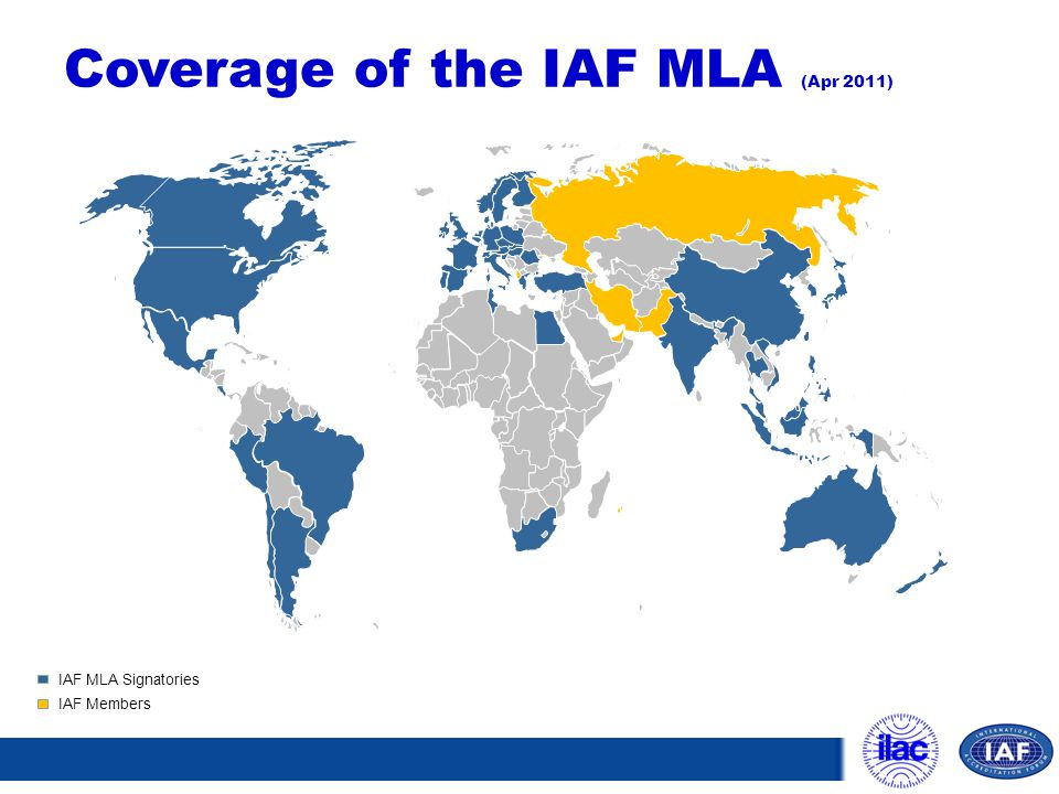 Coverage of the IAF MLA (Apr 2011)