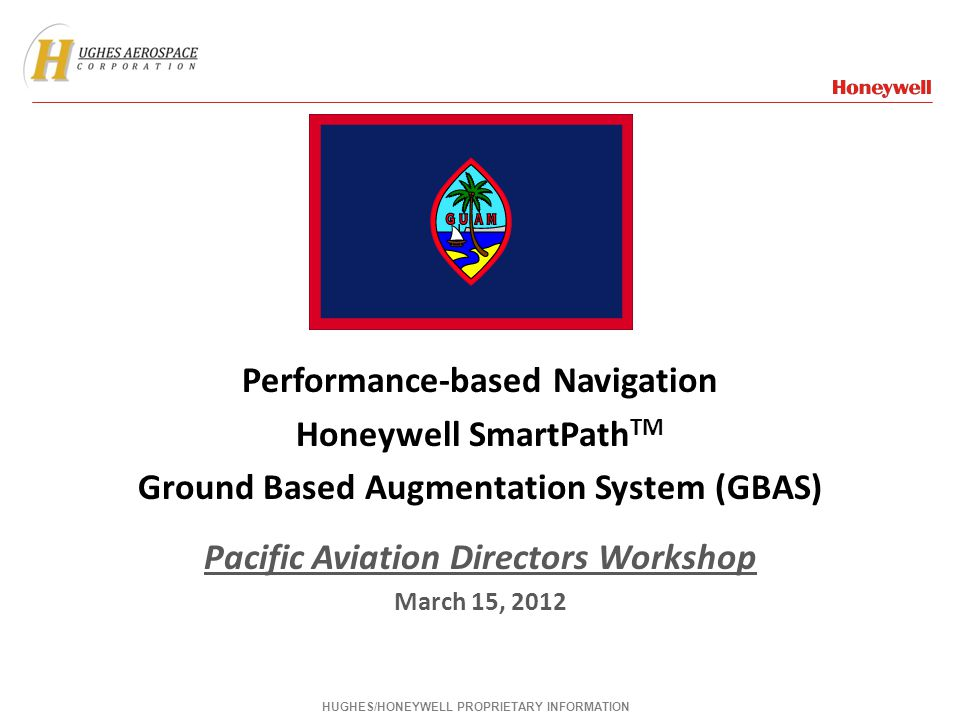 Performance-based Navigation Honeywell SmartPathTM