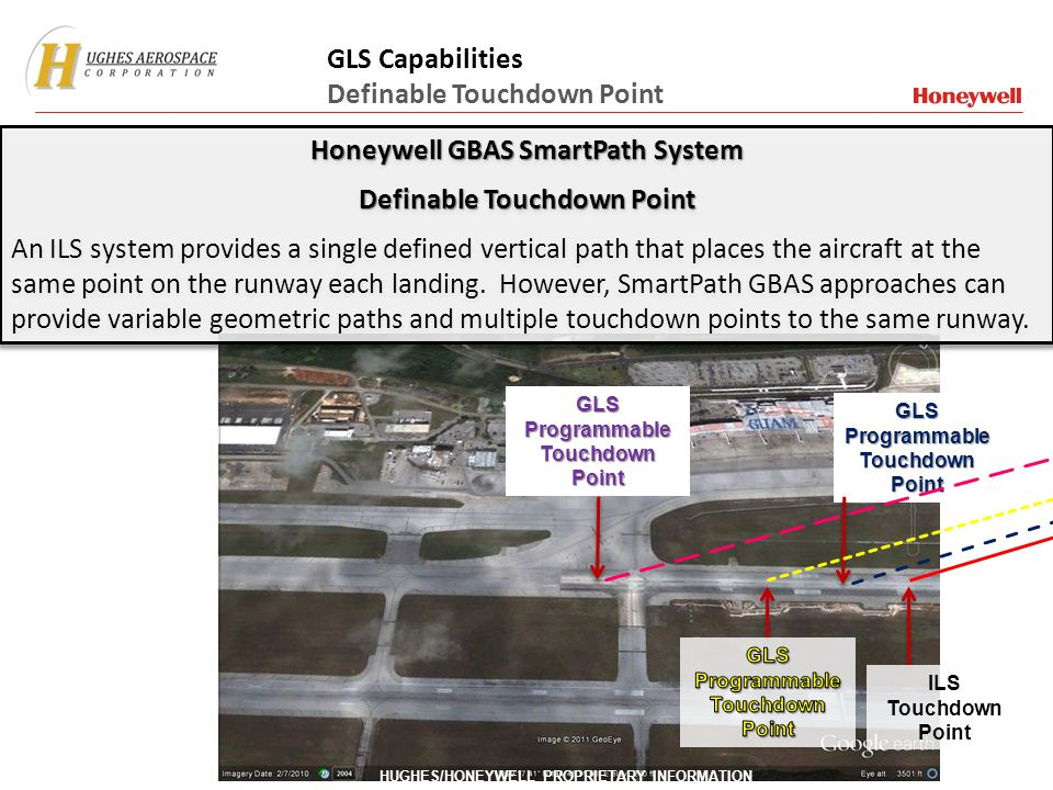 Honeywell GBAS SmartPath System Definable Touchdown Point