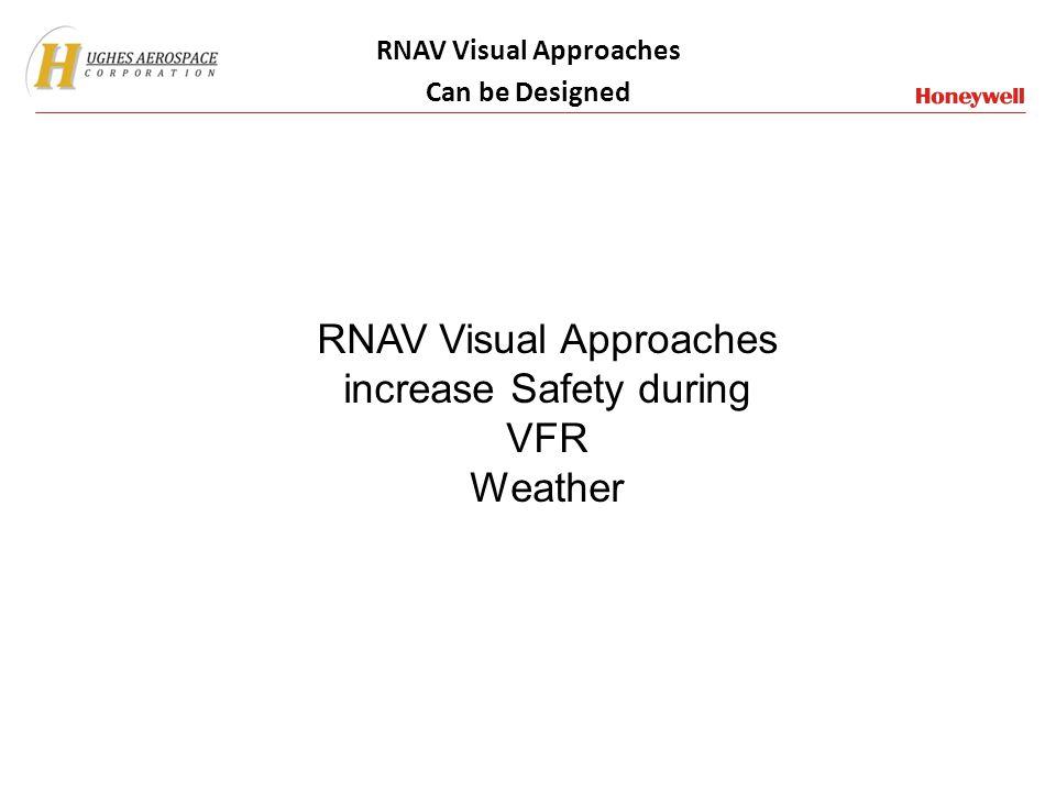RNAV Visual Approaches