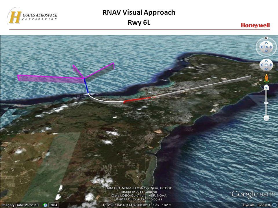 RNAV Visual Approach Rwy 6L