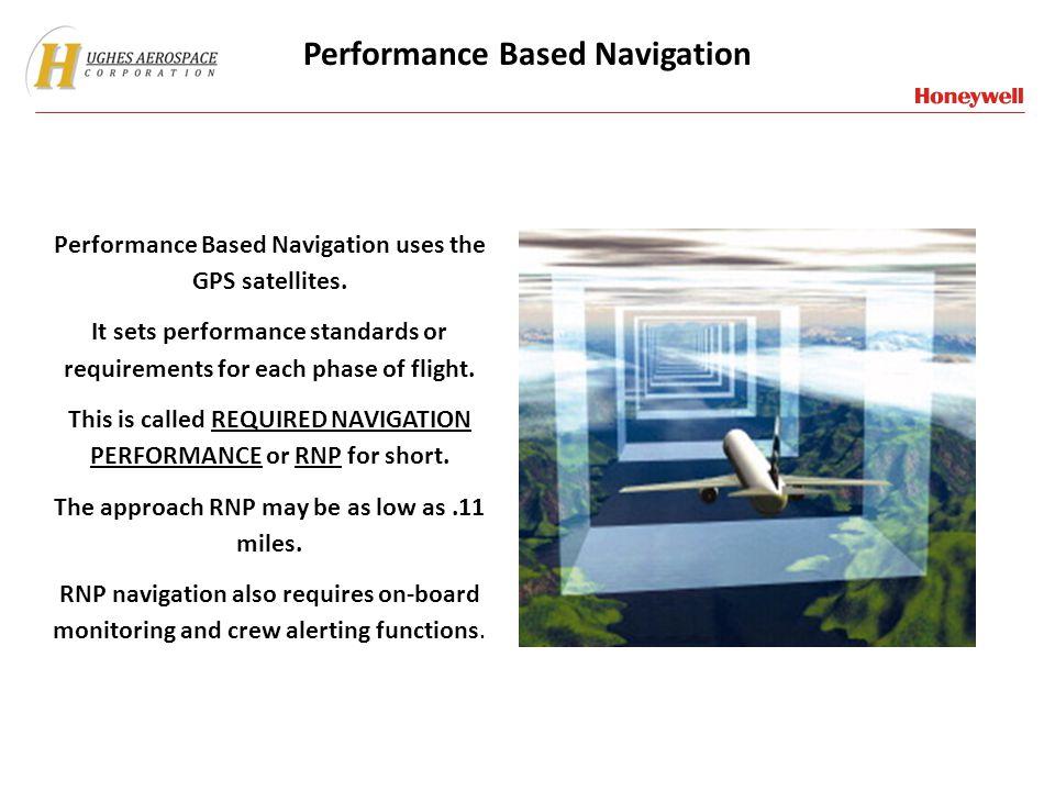 Performance Based Navigation