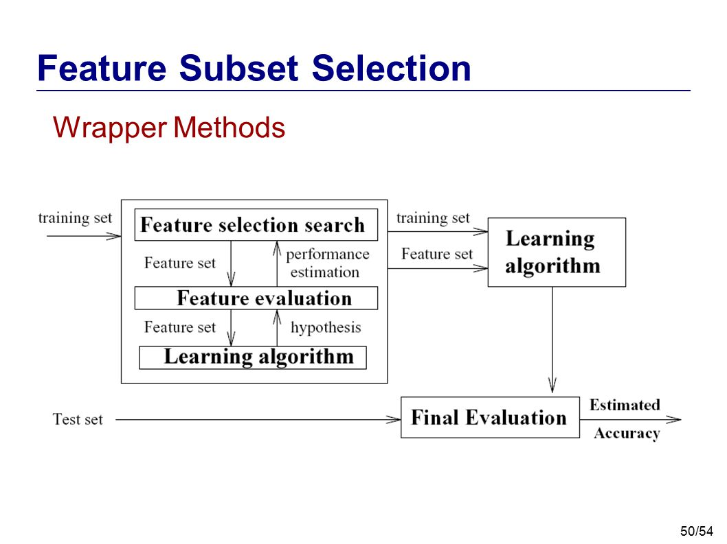 Feature Subset Selection