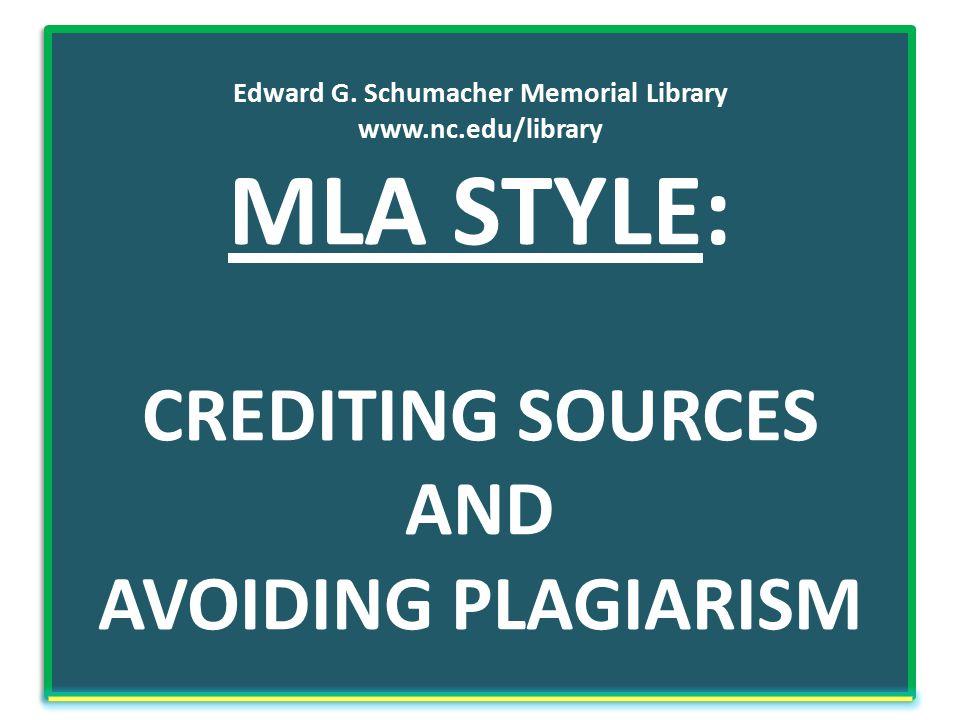 Edward G. Schumacher Memorial Library www. nc