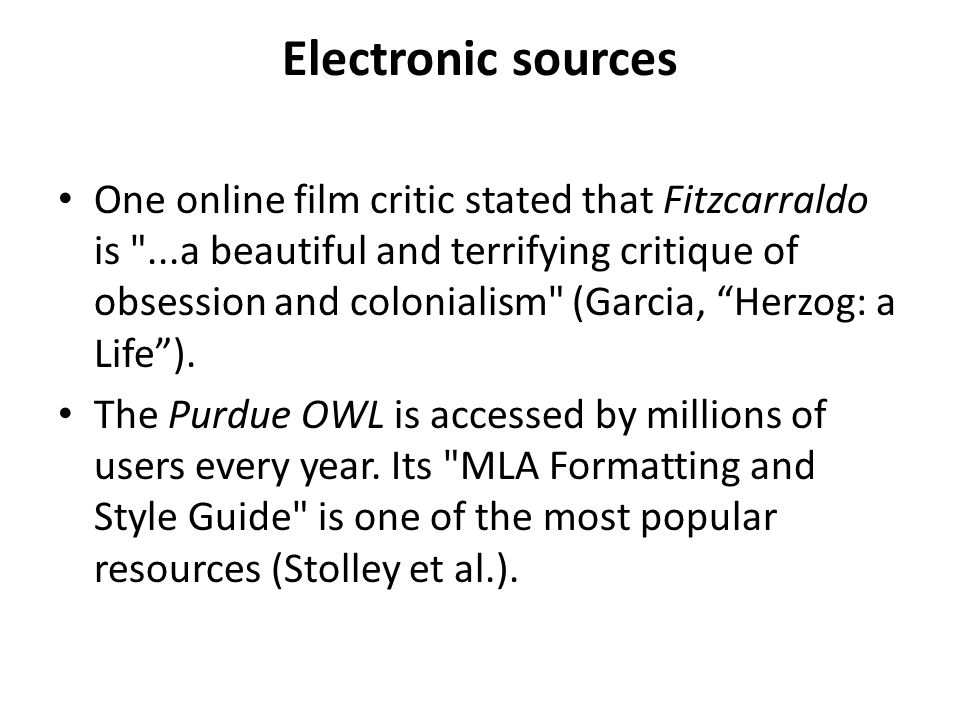 Electronic sources