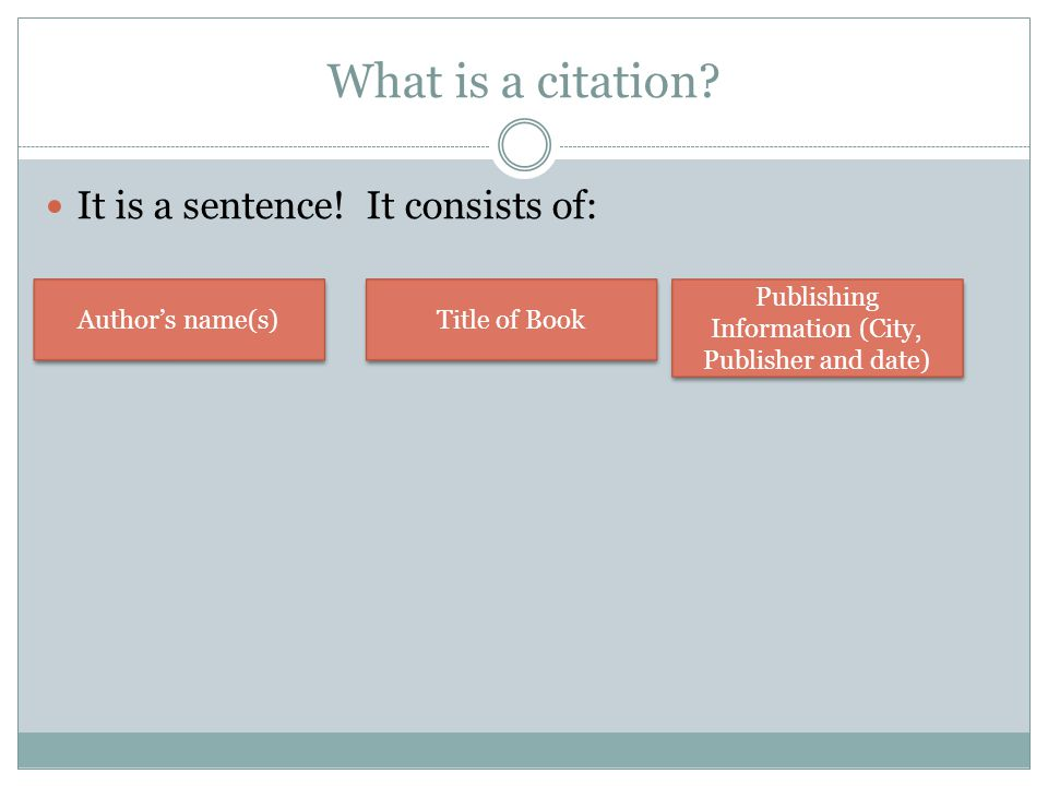 Publishing Information (City, Publisher and date)