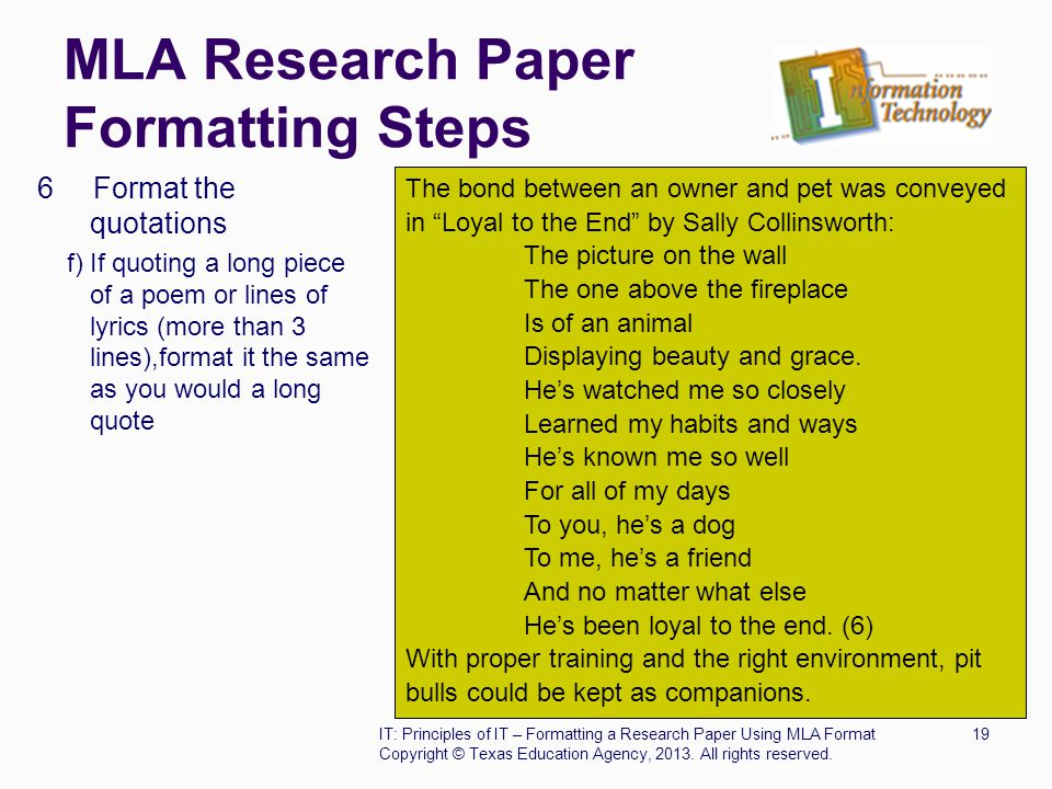 writing research paper using mla format College students writing a paper in the mla format for the first time can struggle to get their attribution and page formats how to cite mla in a research paper.