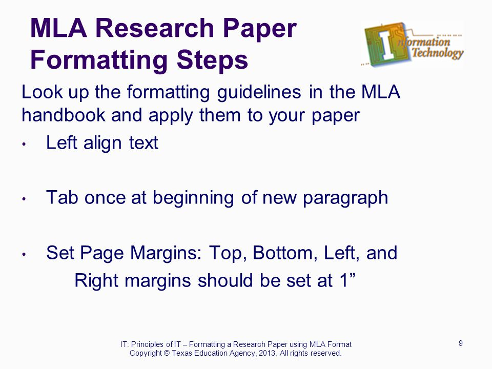 mla format informative essay D mla 1 essay format 2 formatting a works cited page 3 creating formatting titles of texts e apa f chicago iv.
