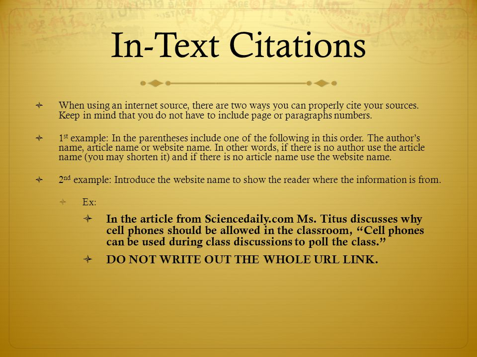 essay citations internet Free citation machine and bibliography generating tool for apa, mla and chicago citation styles to help you properly cite every source of information in your paperwork.