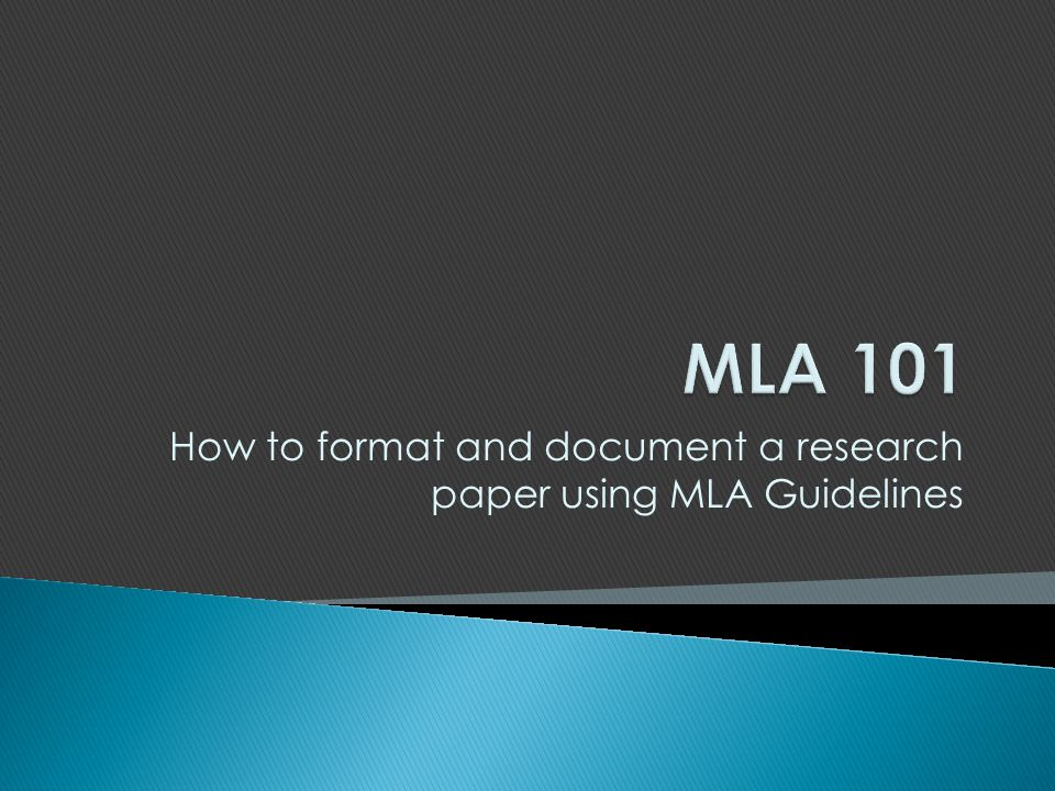 mla format guidelines research paper This website provides guidelines to using mla format and apa format for your academic papers all guides are up-to-date with the latest manuals.