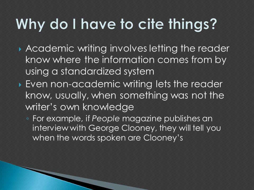 Academic writing examples        original papers