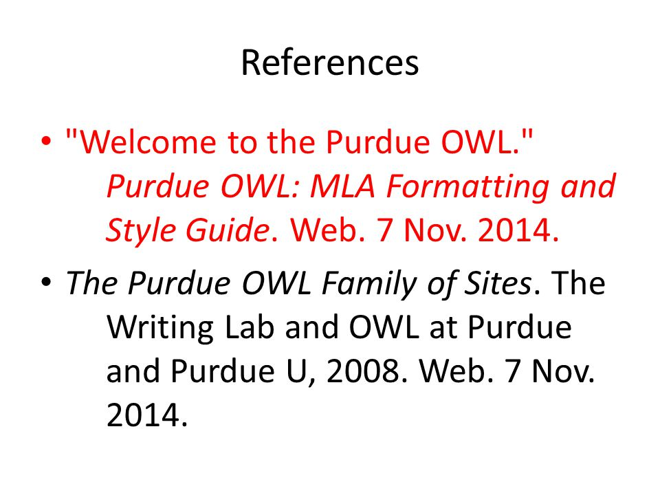 purdue owl online writing lab ppt download