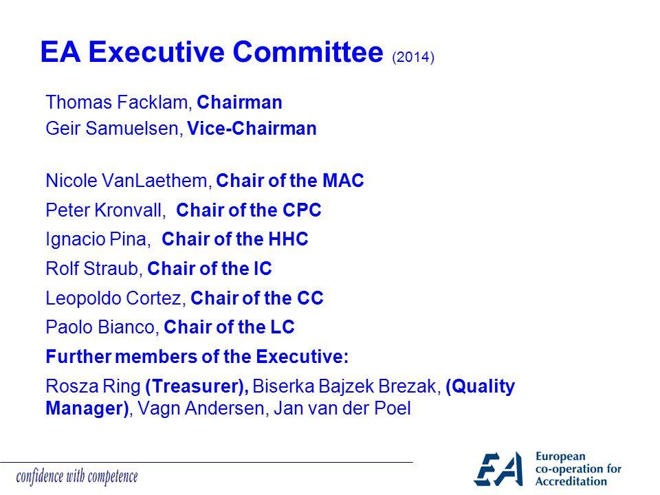 EA Executive Committee (2014)