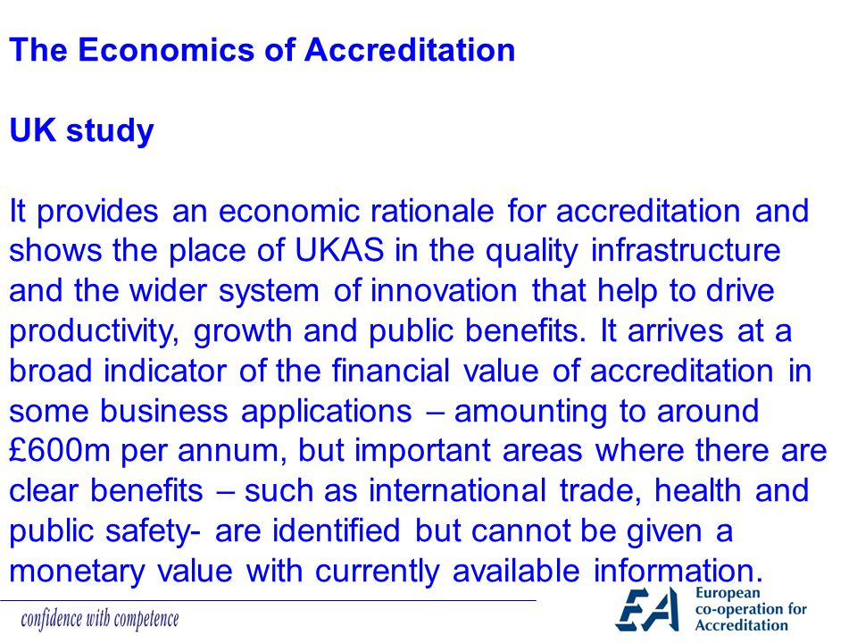 The Economics of Accreditation
