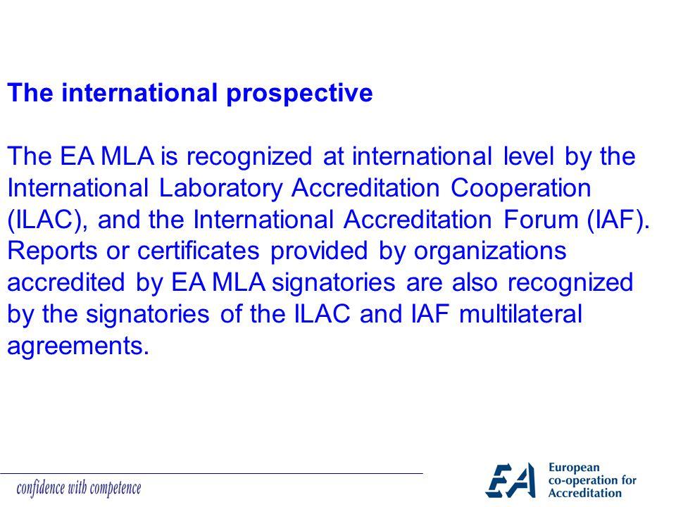 The international prospective