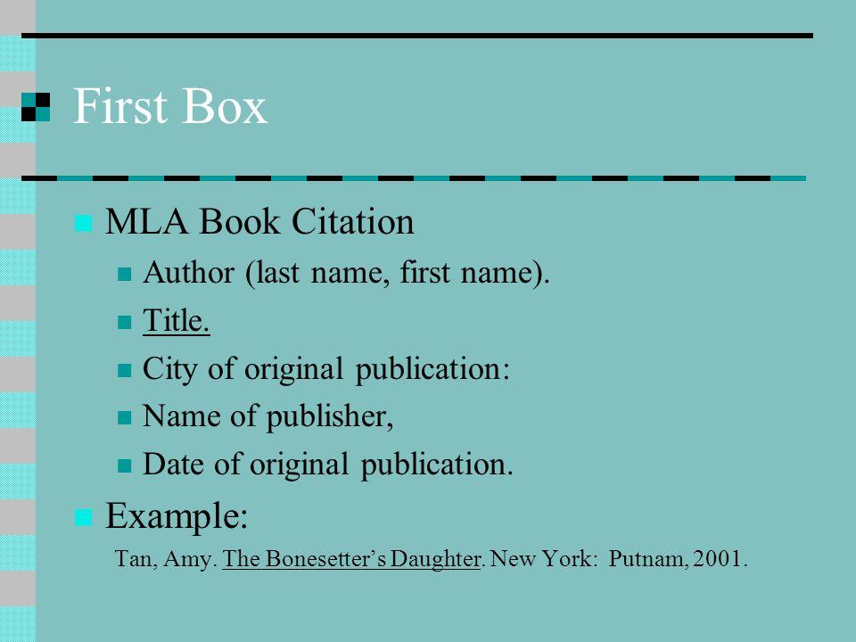 Tan, Amy. The Bonesetter's Daughter. New York: Putnam, 2001.
