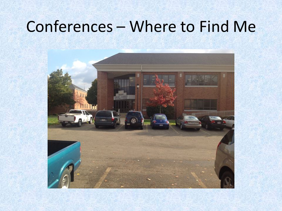 Conferences – Where to Find Me