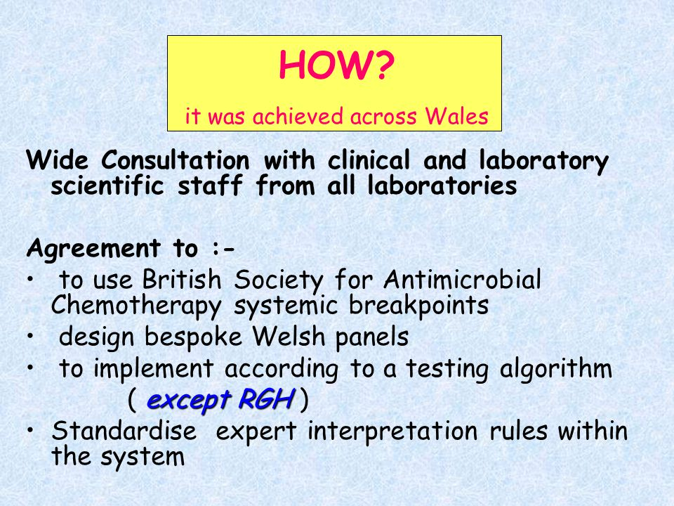 HOW it was achieved across Wales
