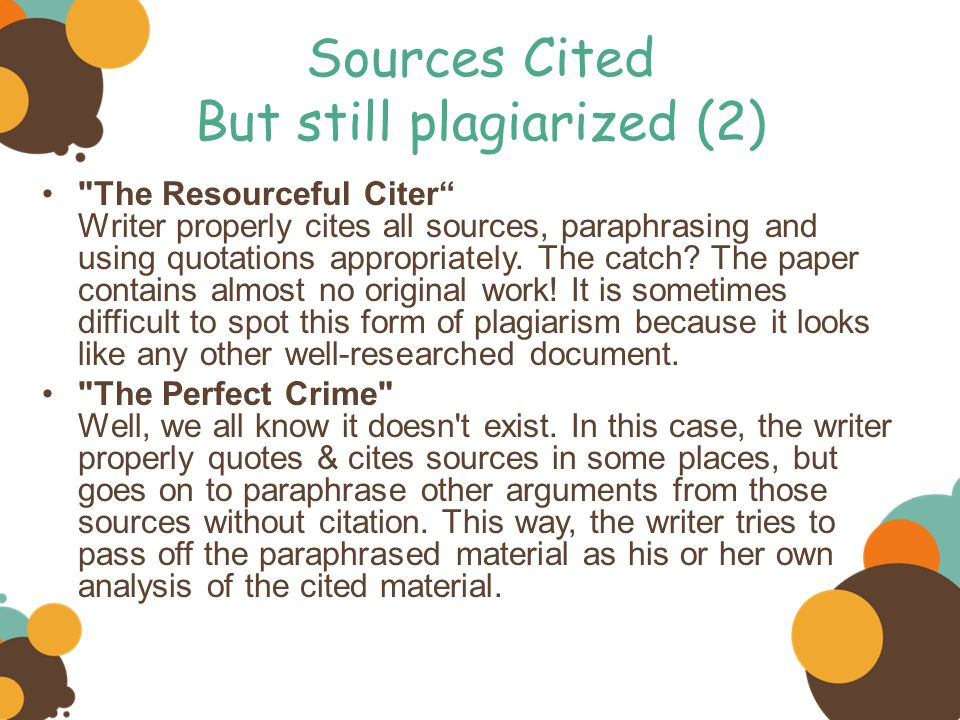 proper research paper citation 131 formatting a research paper throughout the body of your paper, include a citation whenever you quote following proper citation and formatting.