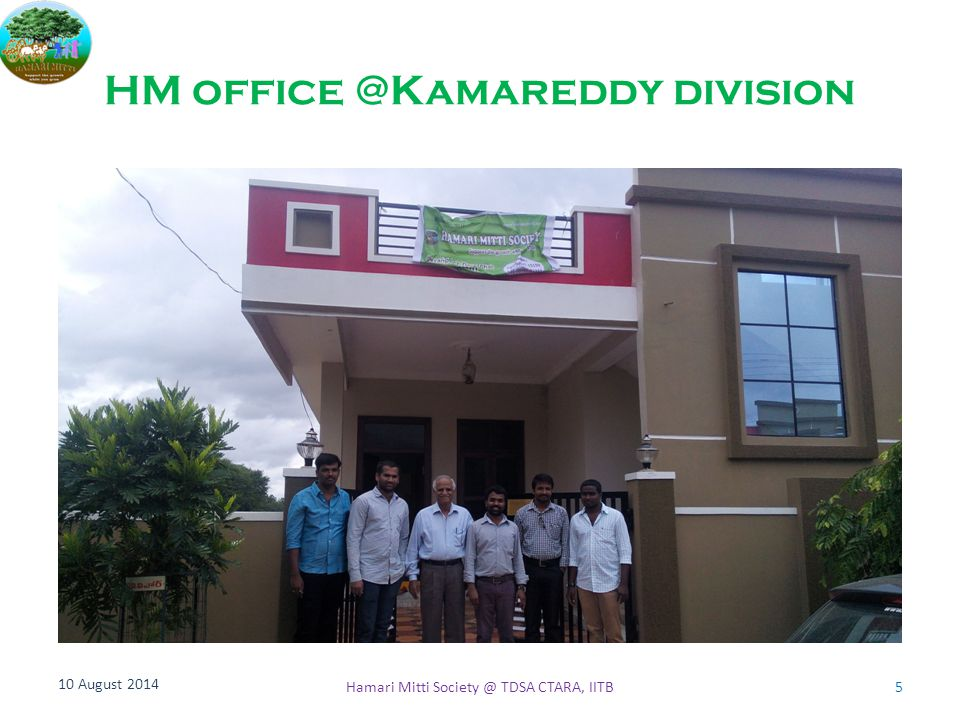 HM office @Kamareddy division