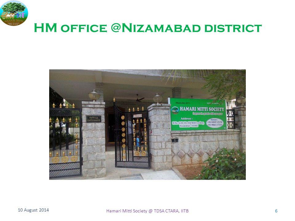 HM office @Nizamabad district