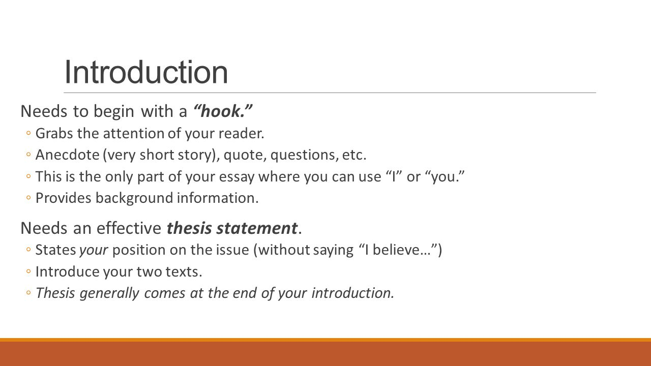 What is a hook for an essay how do i use evidence in a letter example